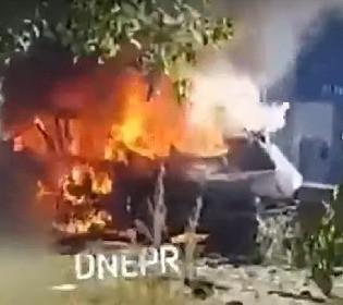 В Днепре взорвался автомобиль с начальницей пресс-службы ГСЧС и ветераном АТО: был ли это теракт?