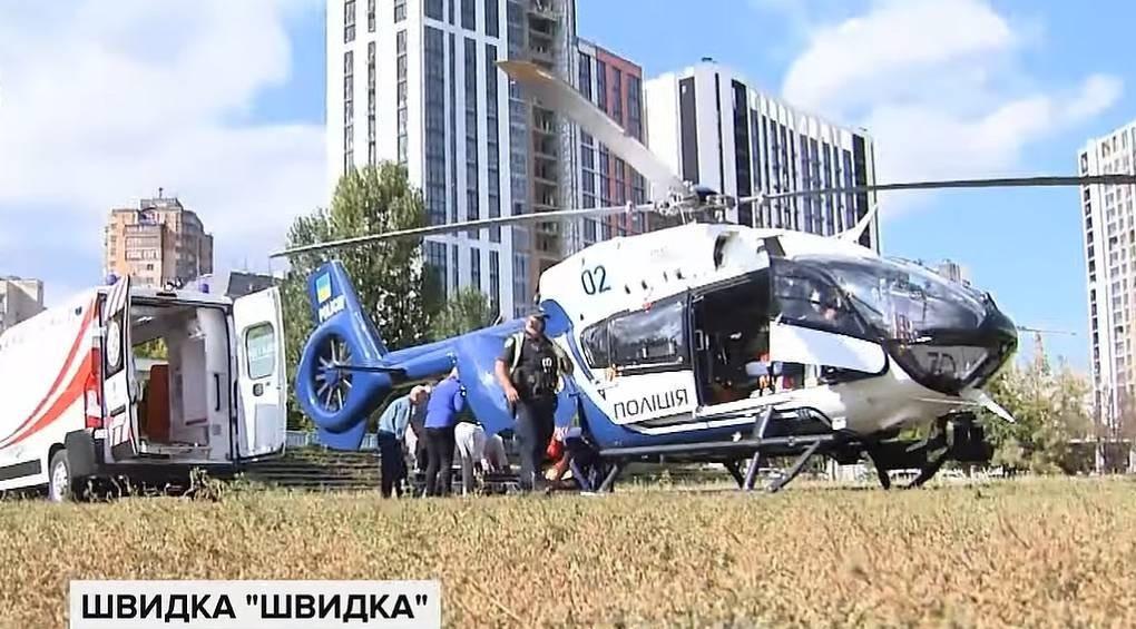 Боротьба за життя у повітрі: пілотний проект аеромедичної евакуації врятував п'ятьох людей
