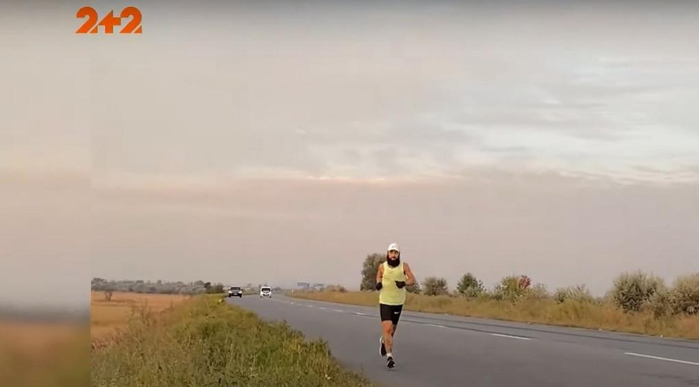 Пробіжка з Дніпра до Харкова заради екології: чоловік подолав відстань у 225 кілометрів за 29 годин