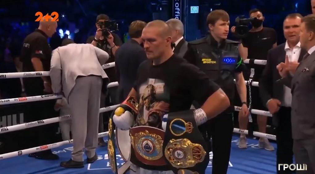 Чемпіонська винагорода: скільки заробив Олександр Усик за бій з Ентоні Джошуа