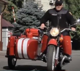 Перезавантаження старого мотоцикла МТ: нові можливості пожежного байка
