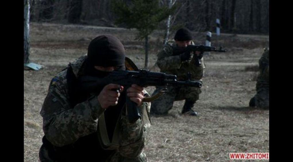 Бійці з досвідом служби в АТО навчають мобілізованих під Житомиром