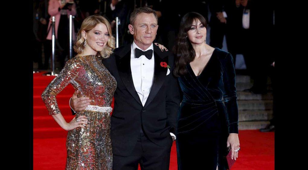 На прем'єру нового фільму про Джеймса Бонда завітала королівська родина