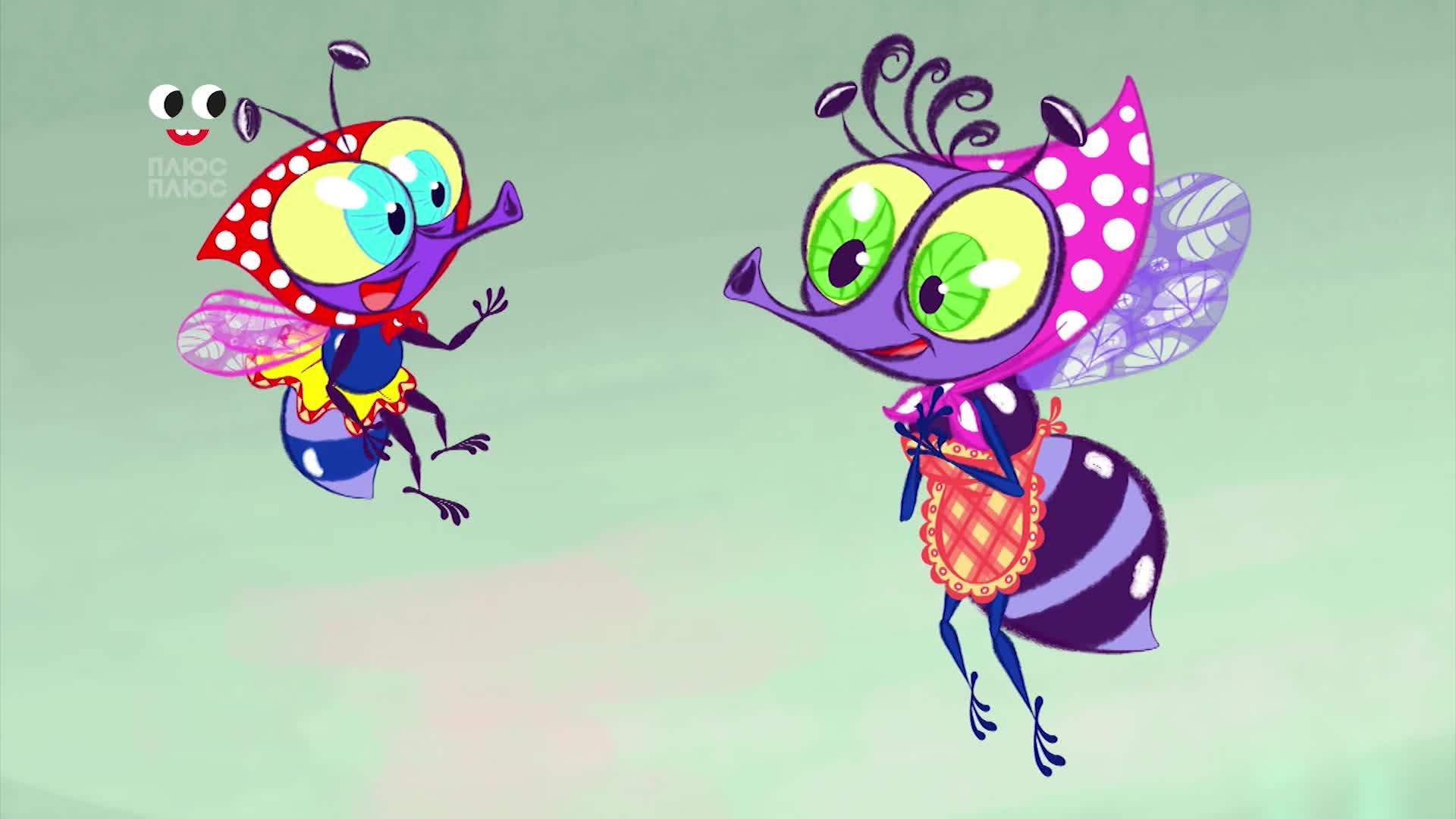 Картинки мультяшные муха цокотуха